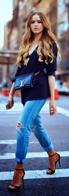 Daily New Fashion : NEW YORKER CHIC / Kayture