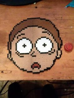 Morty Perler the size of my head, took four hours.