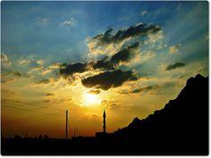 sunset, Islamabad