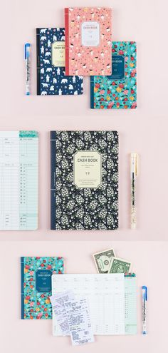 The cutest and most practical way to keep track of your finances? The Ardium Semi Year Cash Book! Something this adorable, helpful, and useful is a winner in our books. ^.~*
