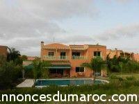 Location d'une Villa de rêve sur le Golf de benslimane