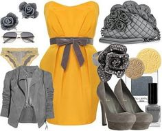yellow and grey
