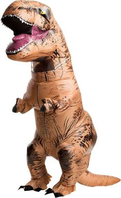 Adult Inflatable T-Rex Dinosaur Costume - Jurassic World - Party City