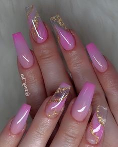What you need to know about acrylic nails - My Nails Summer Acrylic Nails, Best Acrylic Nails, Acrylic Nail Designs, Acrylic Gel, Aycrlic Nails, Gold Nails, Coffin Nails, Manicure And Pedicure, Stylish Nails