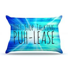 KESS InHouse Puh-lease by Ebi Emporium Featherweight Pillow Sham Size: