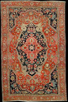 Persian Serapi rug, late 19th century