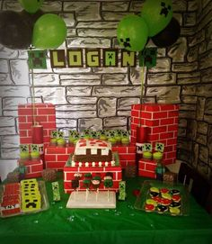 Minecraft Birthday Party Ideas | Photo 9 of 16 | Catch My Party