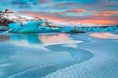 Sunrise at Svinafellsjokull by Jean-Francois Chaubard - Photo 119100407 - 500px