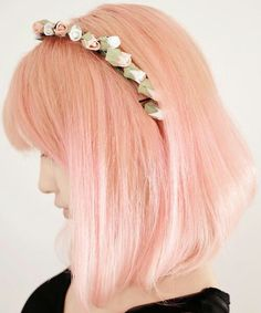 I really want an annoyingly artificial hair color you guys