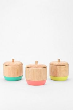Dipped Wood Box Urban Outfitters $16.00. Would love if these came in bigger sizes for the kitchen!