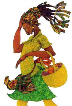 The Yellow Basket By Charles Bibbs