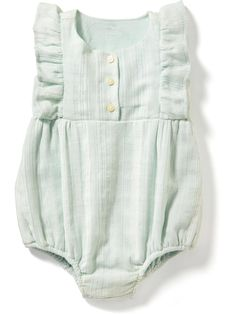 Flutter Sleeve Bubble One-Piece for Baby | Old Navy
