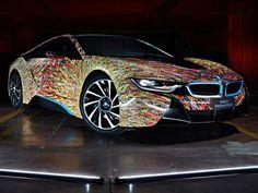 bmw i8 futurism   Krass gestylter BMW i8 Futurism Edition: Lampada ad Arco auf dem ...