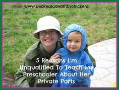 5 Reasons I'm Unqualified to Teach My Preschooler about Her Private Parts