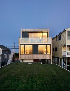 Strathmere NJ beachhouse contemporary-exterior