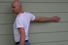 Arm Stretches, for chronic tension in shoulders and neck