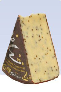 Maitre Moutardier (semi soft, from Switzerland, zesty mustard seeds)