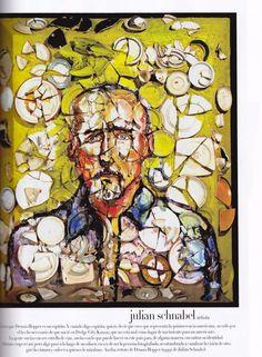 Julian Schnabel Plate Paintings