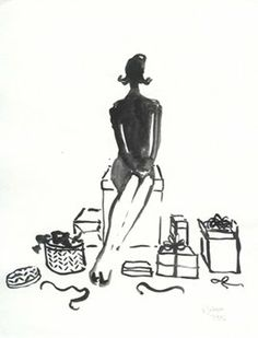 You had to know I would love this illustration by Canadian illustrator Virginia Johnson. This is me and my life right here in one drawing! Virginia Johnson, Cute Drawings, Painting & Drawing, Illustrators, Fashion Art, Eye Candy, Illustration Art, Art Gallery, Kate Spade
