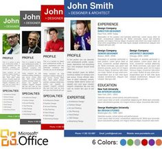 Best Yet Free Resume Templates For Word  Microsoft Word Free