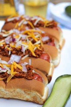 ValSoCal: Chili Cheese Dogs