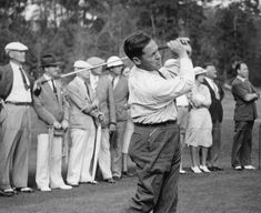 Founder of Augusta National and Co-Founder of the Masters, the one and only Bobby Jones.
