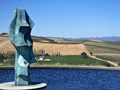 Sculpture at Artesa Winery in Napa Napa Valley, Countryside, Oregon, Vineyard, San Francisco, Bucket, California, Sculpture, Wine