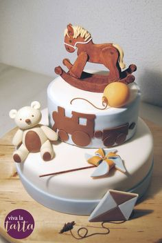Baby toys - by Vanina @ CakesDecor.com - cake decorating website