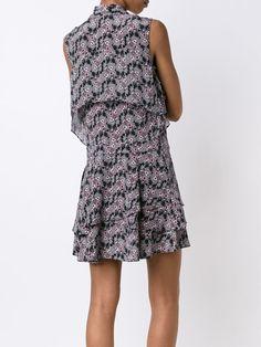 Derek Lam 10 Crosby платье-рубашка с рюшами