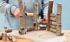 Natur-Krippe bauen: Schritt 7 von 10