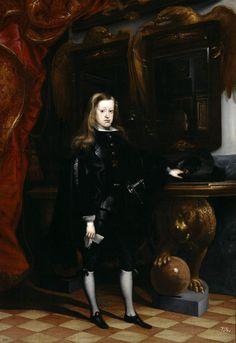 Carlos II, el hechizado. Juan carreño de Miranda
