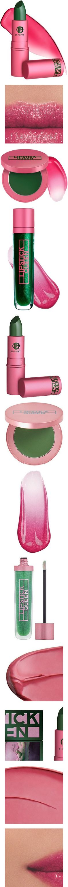 Pink and Green Frog Prince Makeup by Lipstick Queen! #Pink #Green #Frog_Prince #LIpstick_Queen