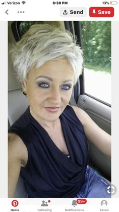 Short hair Short hair - hair styles for short hair Short Choppy Hair, Short Hairstyles For Thick Hair, Short Brown Hair, Haircut For Thick Hair, Short Blonde, Short Hair Cuts For Women, Short Hair Styles, Short Pixie, Short Textured Hair