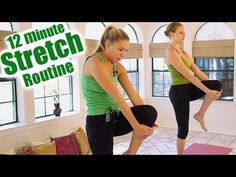 Pain Relief: 12 Minute Stretch Routine for Back Pain Relief, Fl...