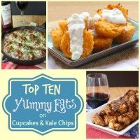 Top Ten Yummy Eats 2014 sq