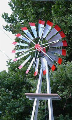 Jewell Windmills - Classic ornamental farm style windmills wind mills windmill windmills