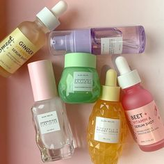 New additions to my family💕 Their watermelon moisturizer is my all-time favorite beauty product ever so I was pretty excited to… Lip Care, Body Care, Beauty Care, Beauty Skin, Face Skin Care, Homemade Skin Care, Aesthetic Makeup, Tips Belleza, Skin Makeup