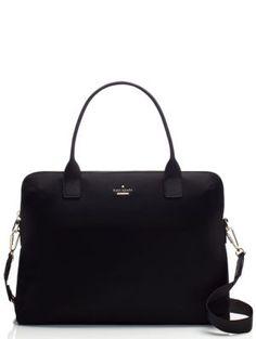 classic nylon daveney laptop bag - Kate Spade New York Kate Spade Laptop Bag, Kate Spade Purse, Laptop Bags, Kate Spade Briefcase, Laptop Purse, Laptop Bag For Women, Mk Bags, Nylon Bag, Handbags Online