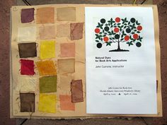 Natural Dye Book---good idea