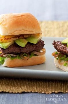 Say aloha to a 30-minute wonder complete with grilled onions, avocado and teriyaki.