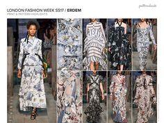 Spring/Summer 2017 Catwalk/Runway Print & Pattern Trend Report | Patternbank