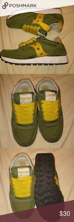 7e2fd07dce4 Saucony Jazz In good condition..fat laced. Saucony Shoes Sneakers Saucony  Shoes