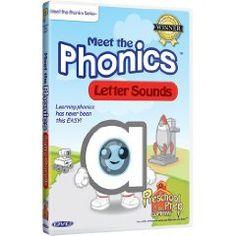 Meet the Phonics - Letter Sounds $9.99