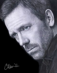 Hugh Laurie Drawing