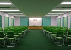 North Korea's interiors look like a Wes Anderson movie | The candy-coloured furniture and Soviet-era fittings could easily stand in for the set of Anderson's next film