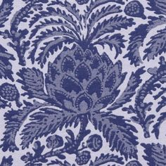 Robert Allen VESPERTINE COBALT Fabric
