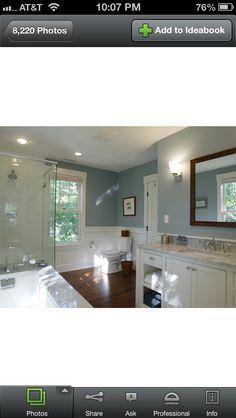Possible guest bathroom paint color