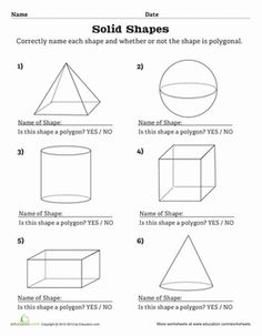 love this printable on shapes easy practice math class magic math 3d shapes worksheets. Black Bedroom Furniture Sets. Home Design Ideas