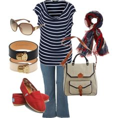 Nautical, created by aracely26 on Polyvore