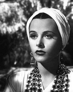 Hedy Lamarr starring in Lady Of The Tropics (1939)